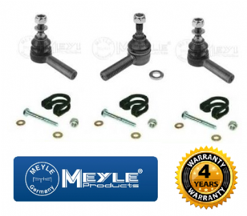 KIT632 Meyle Defender Track & Cross Rod Tube End Kit With Clamps & Fittings RTC5869 - RTC5870